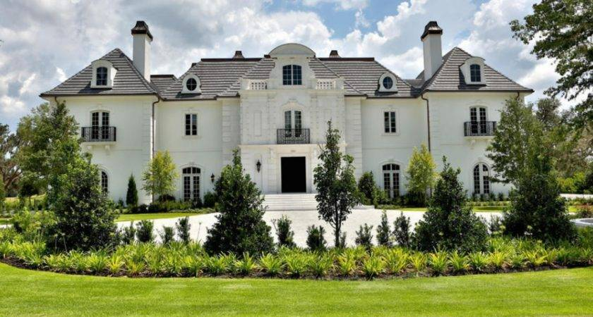Square Foot Newly Built Waterfront Mansion Ocala