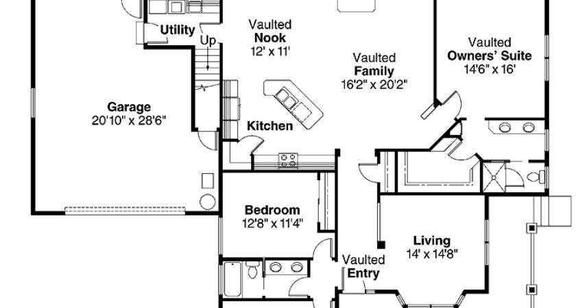 Square Foot Open Floor House Plans