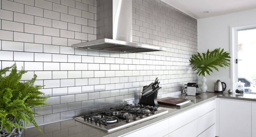 Stainless Subway Tile Design Ideas
