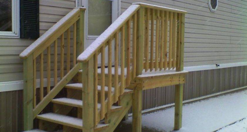 Stairs Manufactured Home