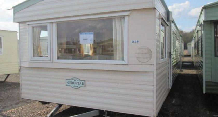 Static Caravan Mobile Home Delta Nordstar Bed