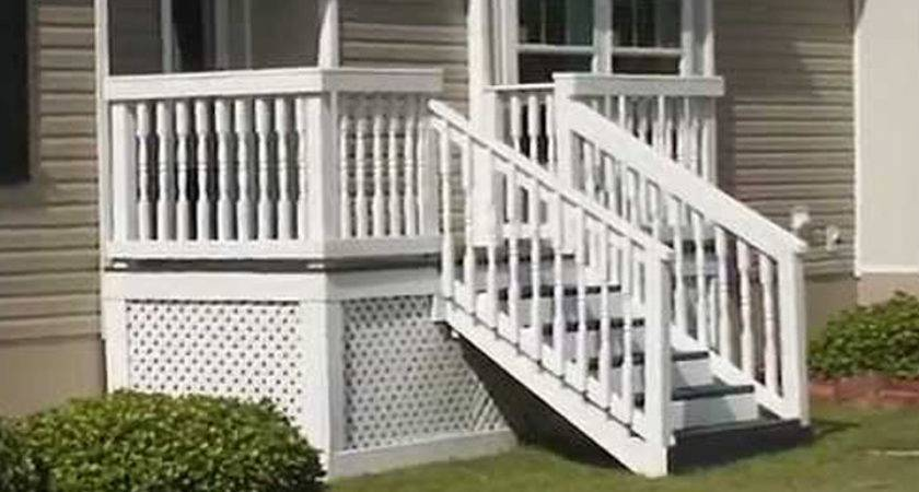 Steps Mobile Homes Outdoor Ideas