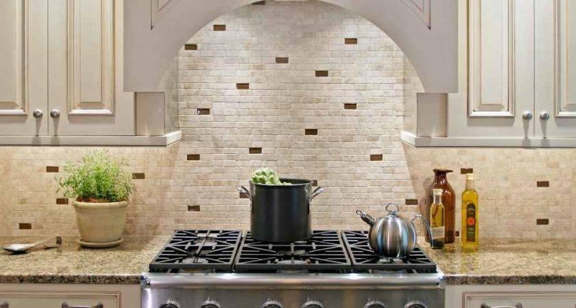 Stone Backsplash Design Feel Home