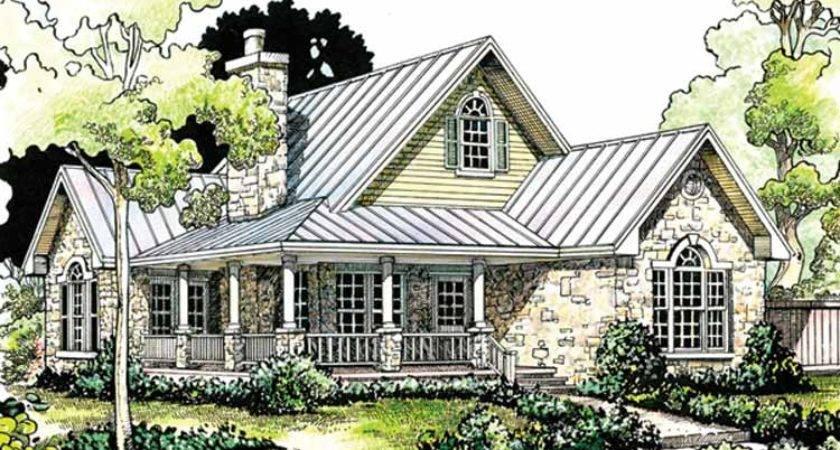 Stone Cottage House Plans English