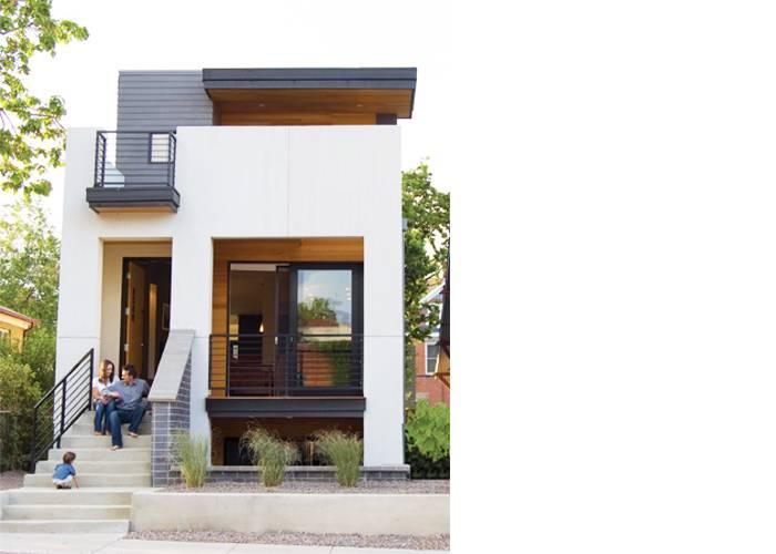 Street Modular Home Modern Prefab Architecture Tomecek Studio