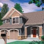 Style House Plan Beds Baths