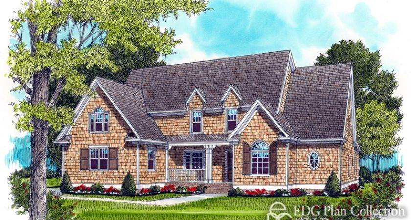 Style Tidewater Nantucket Timeless House Plan