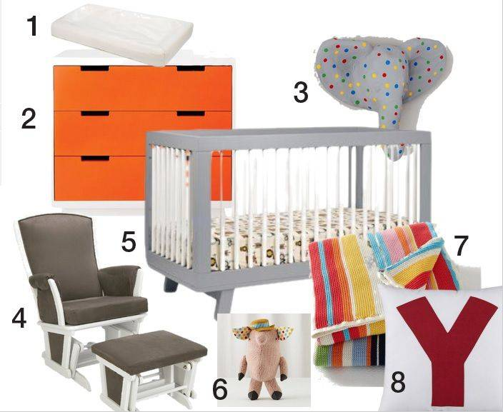 Stylish Nurseries Budget Nursery Ideas Pinterest
