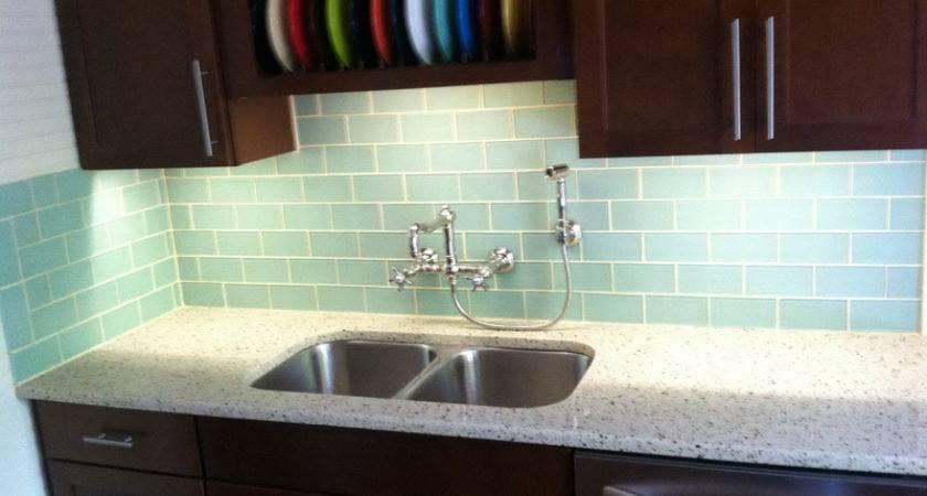 Subway Tile Backsplash Kitchen Ideas Glass