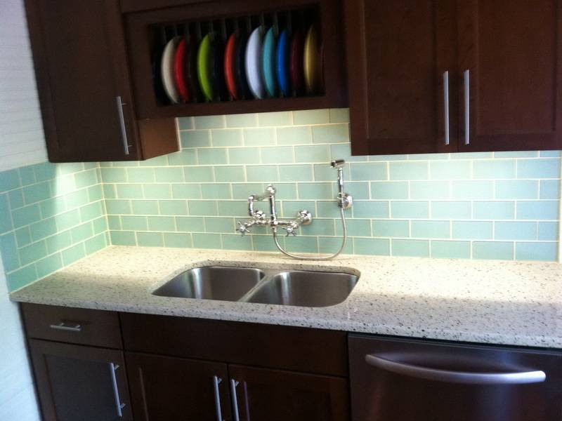 Subway Tile Backsplash Kitchen Ideas Glass