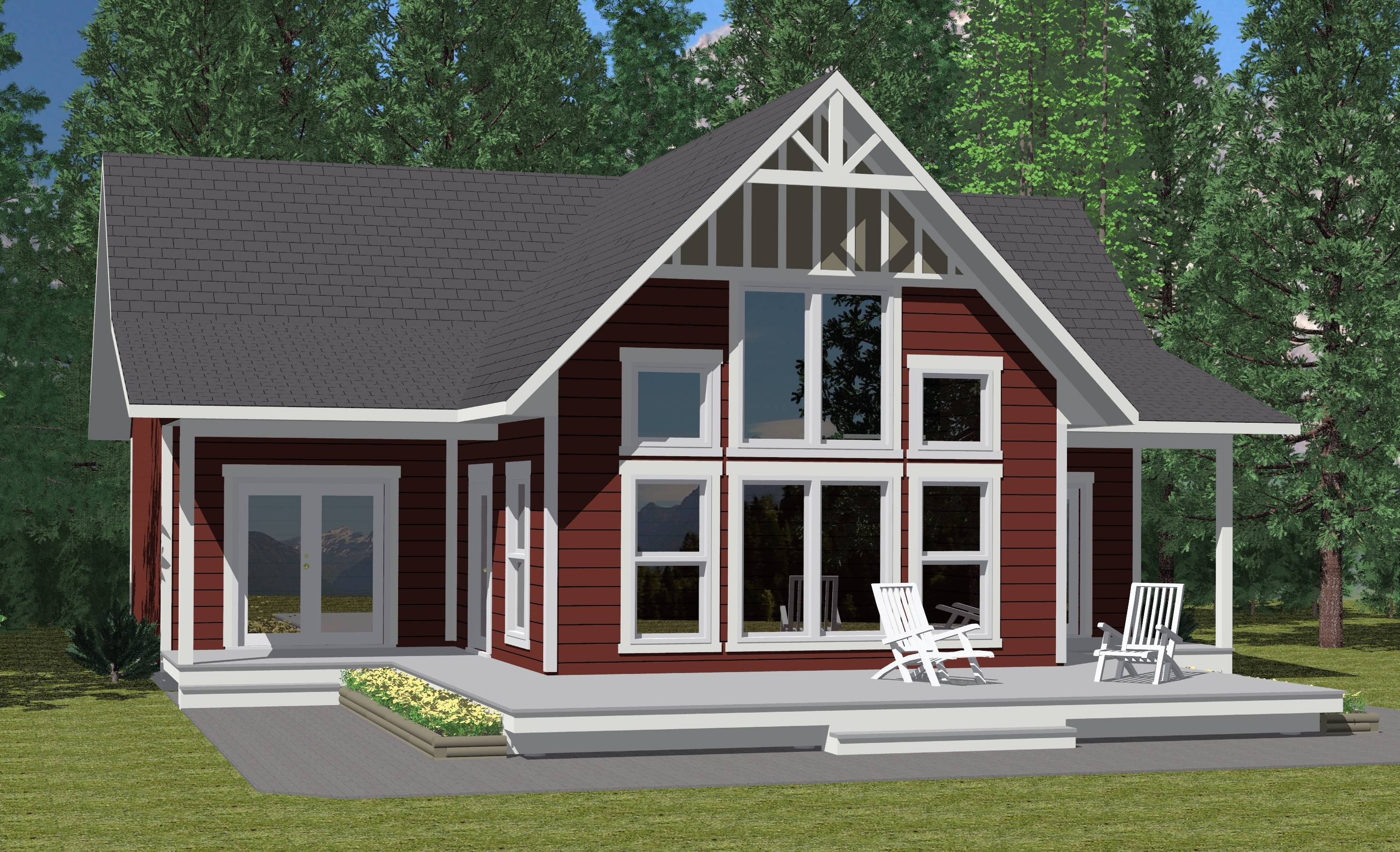 Summit Prefab Cabin Cottage Plans Winton Homes