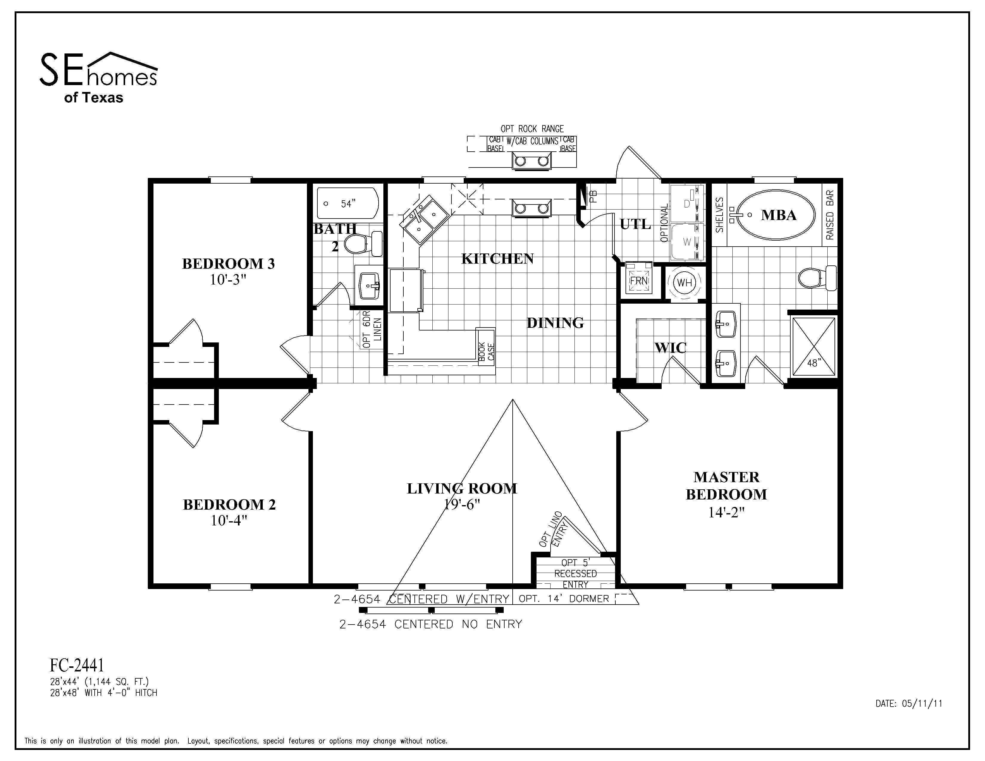 Sunshine Mobile Homes Floor Plans Home Plan