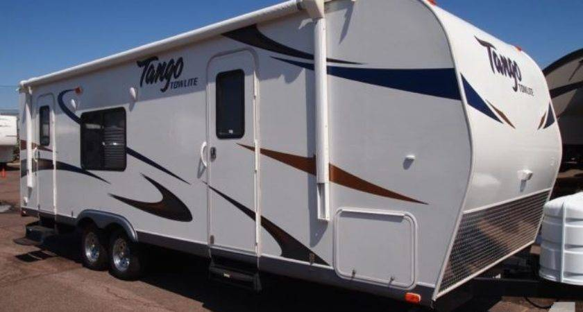 Tango Towlite Fbs Travel Trailer Ton Towable