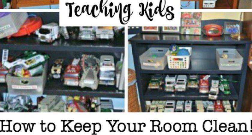 Teaching Kids Keep Your Room Clean Easy Steps