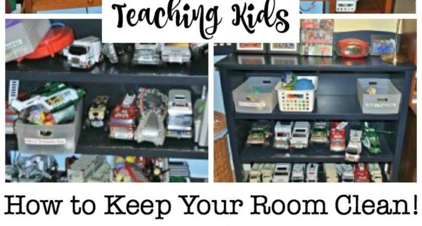 Teaching Kids Keep Your Room Clean Momof