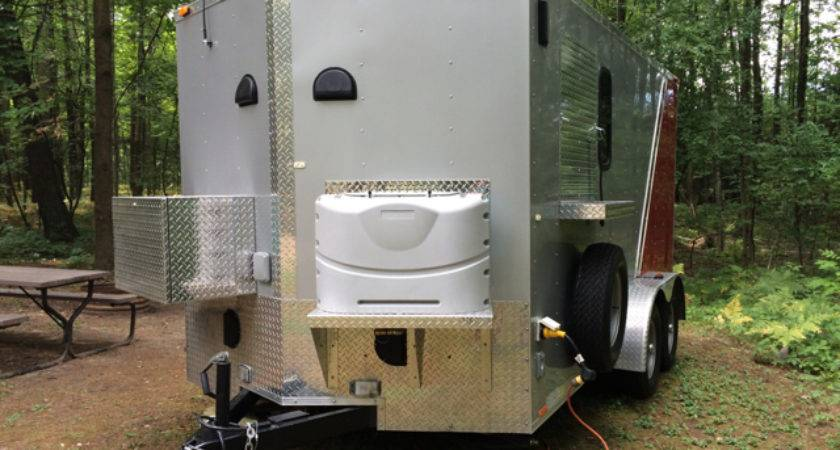 Teardrops Tiny Travel Trailers Topic Nice Cargo