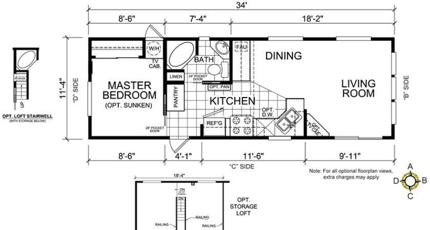Tennyson Loft Floor Plan Park Model Homes Nebraska Iowa