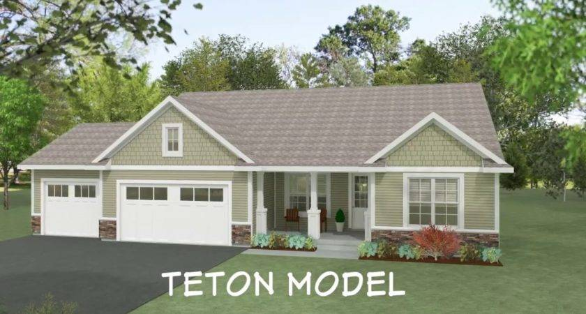 Teton Home Floor Plan Wausau Homes Youtube