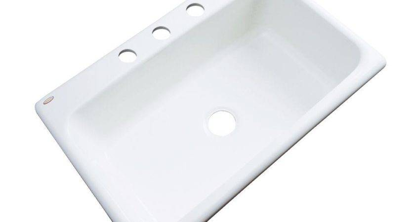Thermocast Manhattan Drop Acrylic Hole Single