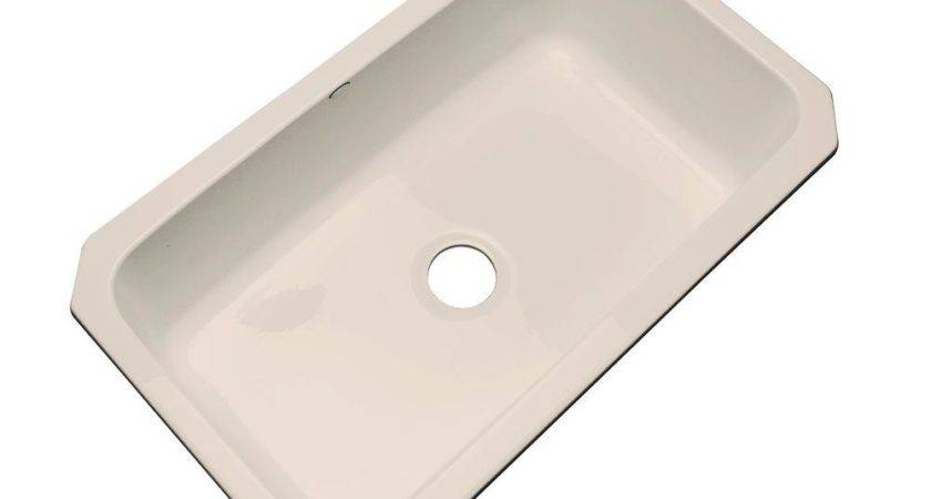Thermocast Manhattan Undermount Acrylic Single Bowl