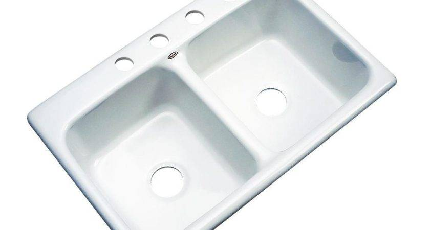 Thermocast Newport Drop Acrylic Hole Double