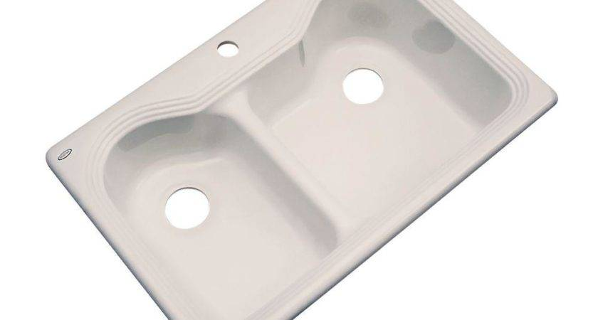 Thermocast Wyndham Drop Acrylic Hole Double