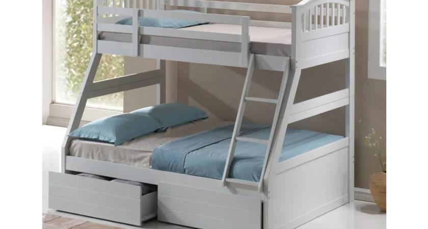 Three Sleeper Wooden Bunk Bed Mattress