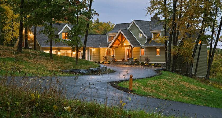 Ticonderoga Adirondack Style Home Log Plan