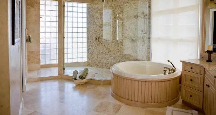 Tile Bathroom Floor Ceramic Patterns Showers