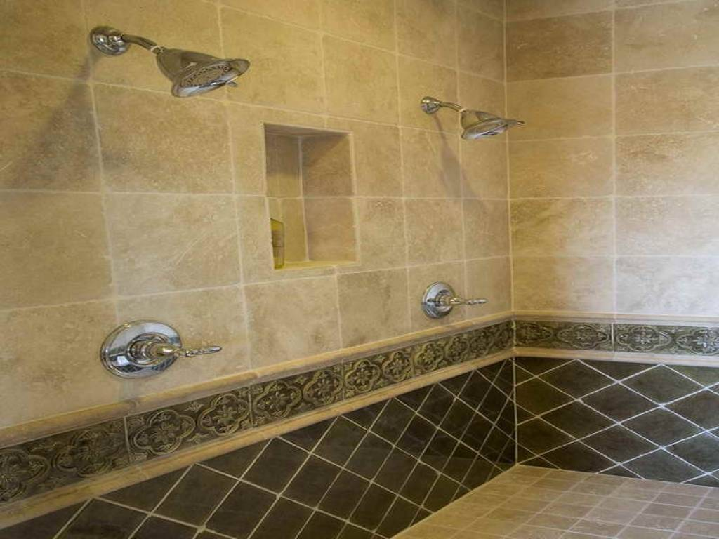 Tile Bathroom Shower Design Nifty Walk Designs