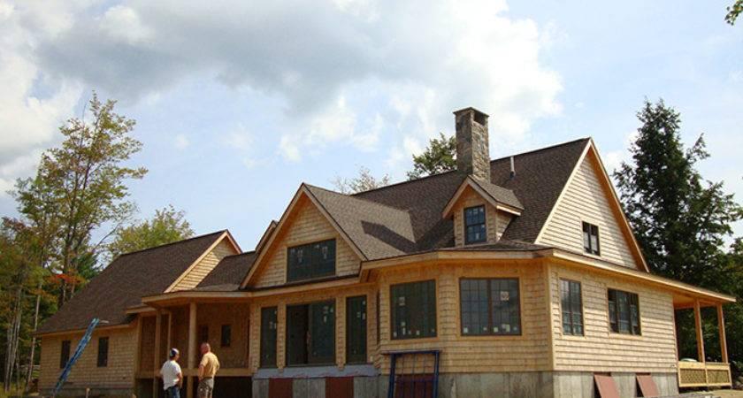 Timber Stick Frame House Built Homes