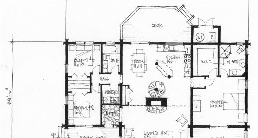 Timberline Elevation Floor Plans
