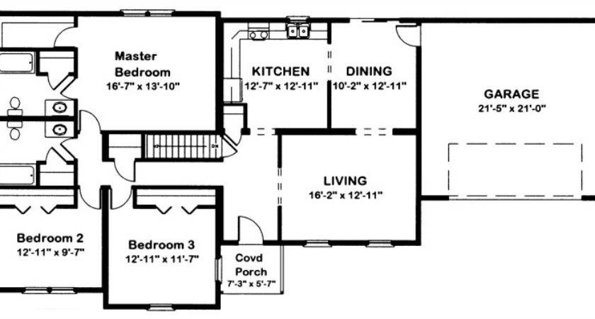 Timberline Modular Home Floor Plan