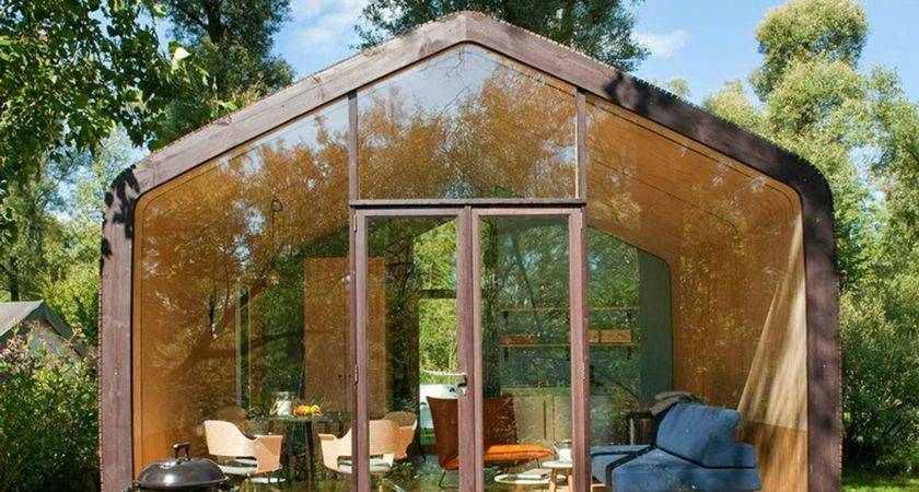 Tiny House Built Cardboard Wikkelhouse Makes Work