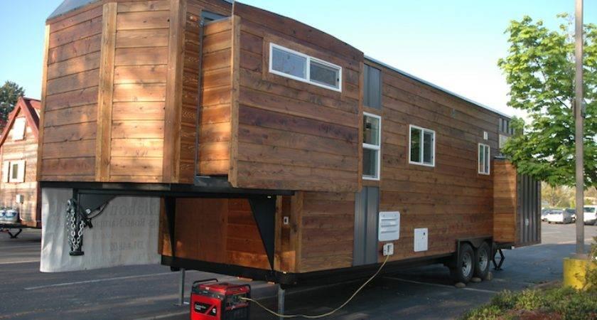 Tiny House Slide Outs Built Gooseneck Trailer
