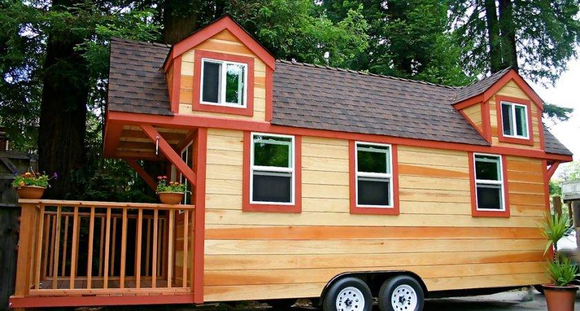 Tiny Houses Sale Wheels Trailer Nice Artistic Design