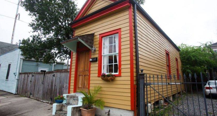 Tiny Shotgun Cottage New Orleans Small House