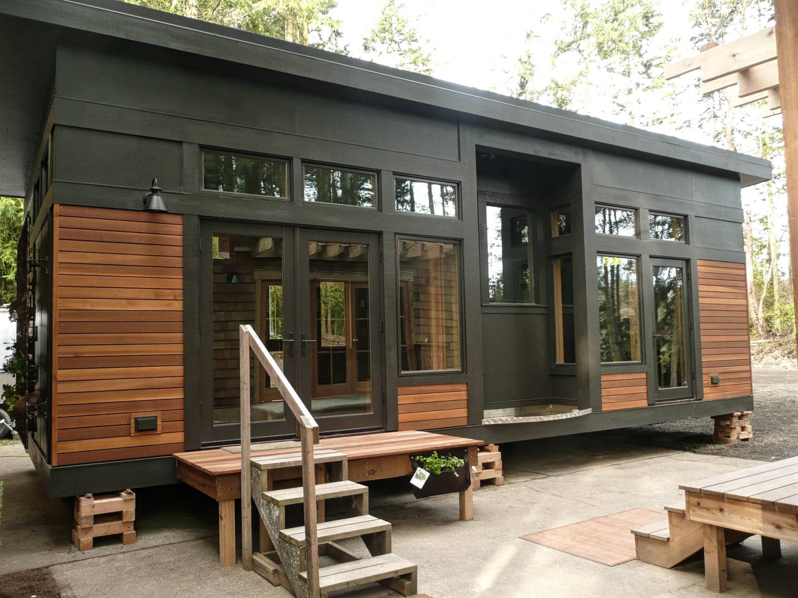 Tiny Sustainable Prefab Home Greenpod Small House Bliss