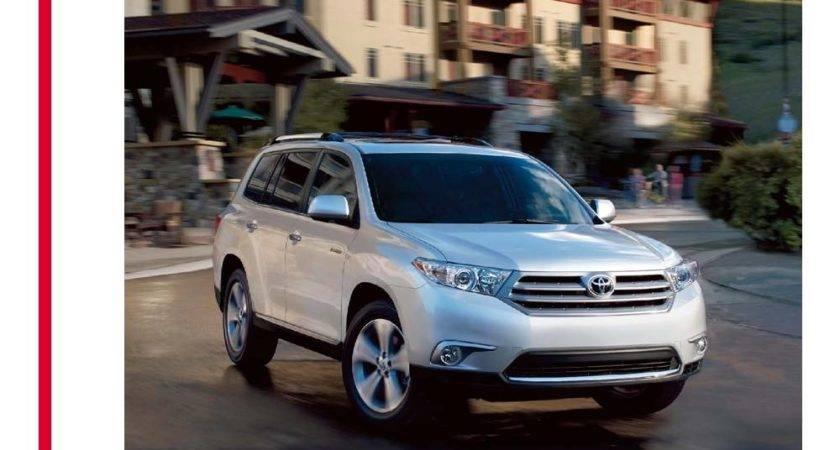 Toyota Highlander Brochure Blog