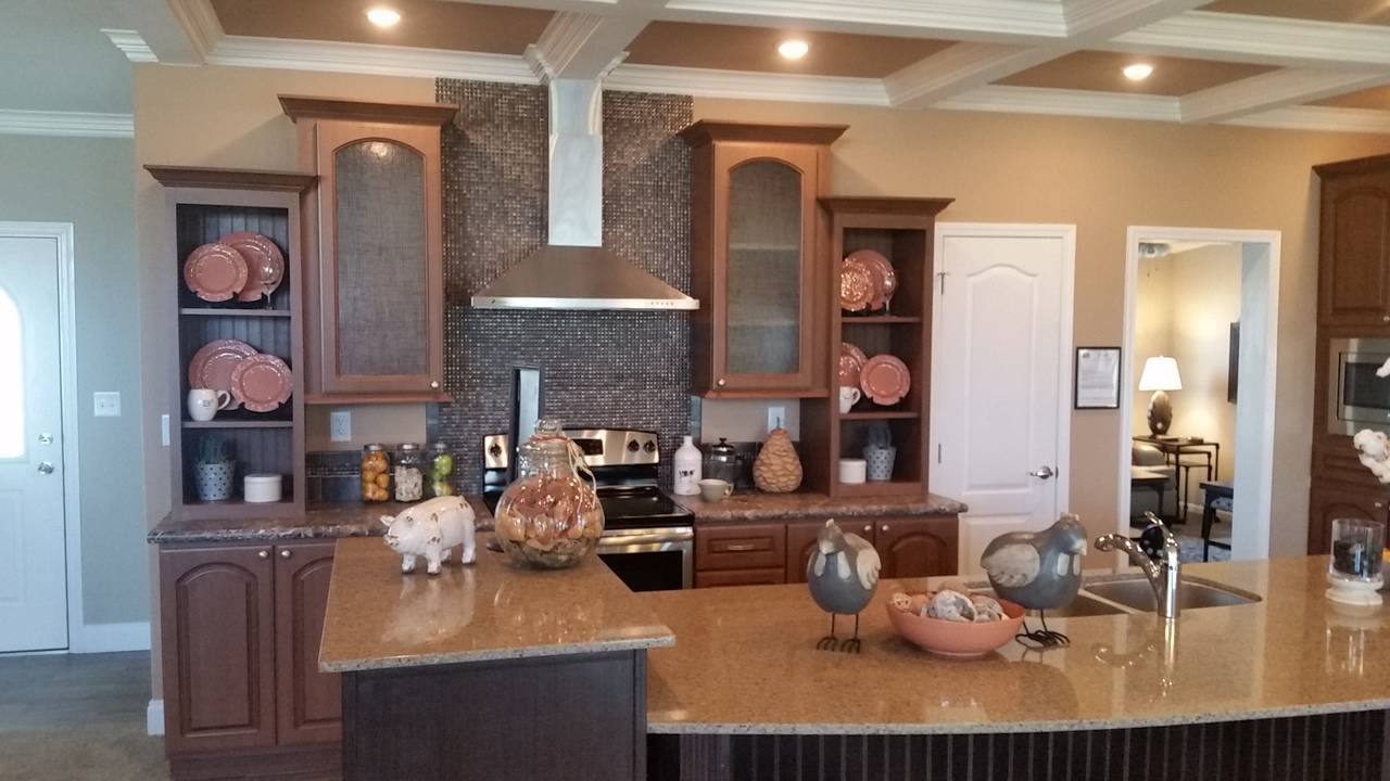 Tradewinds Kitchen Palm Harbor Homes Bedrooms Baths