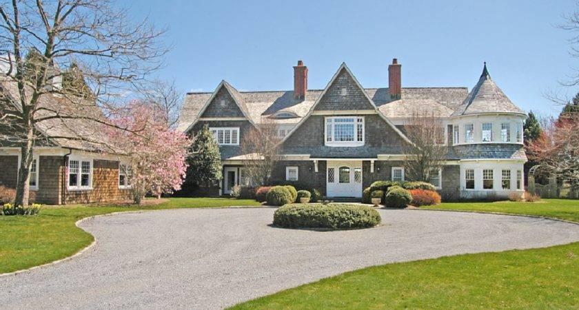 Traditional Shingle Style Waterfront Home East Hampton Homes