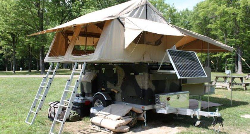 Trailers Camps Travel Homemade Campers