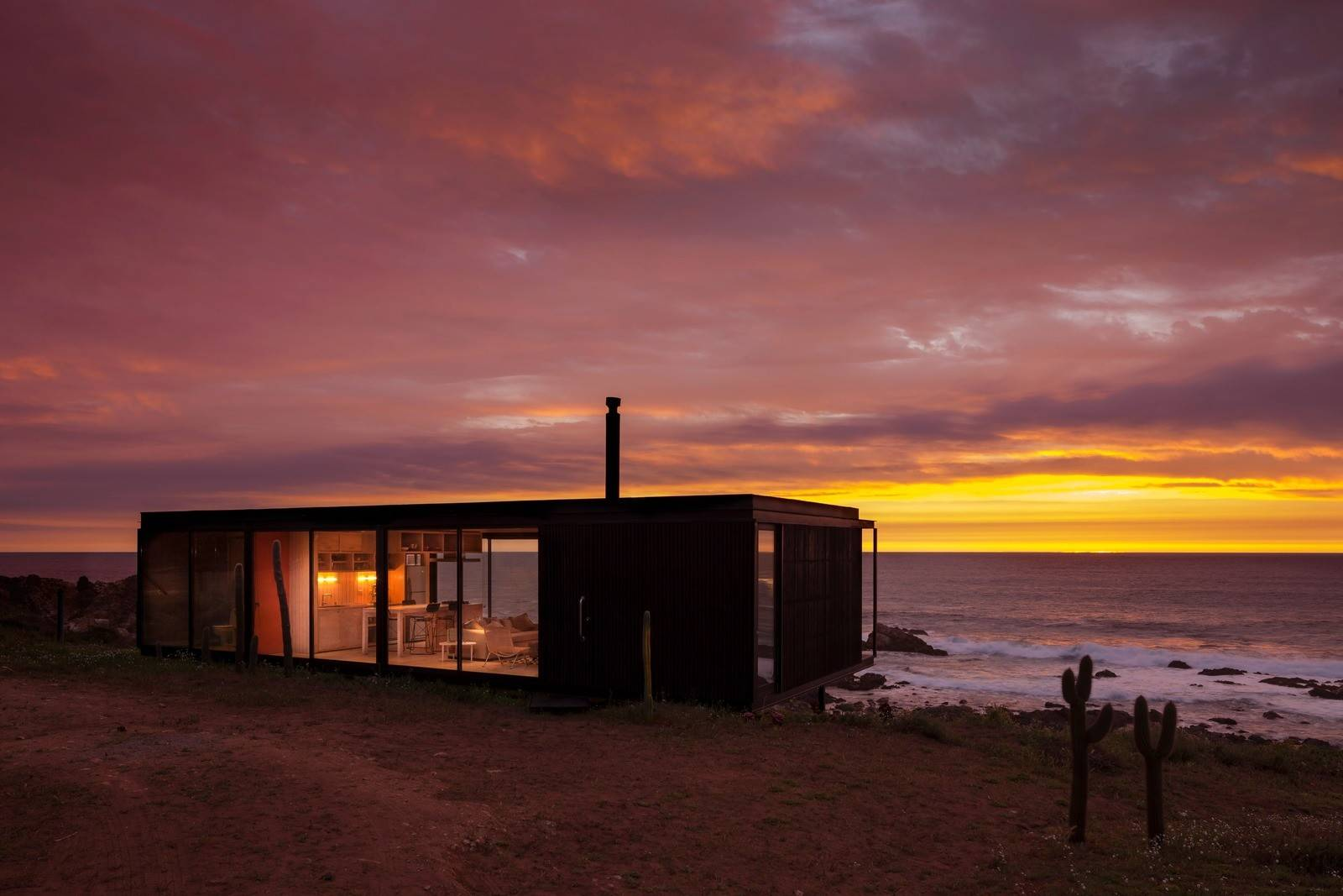 Transportable Modular Units Offering High Quality Living Remote House
