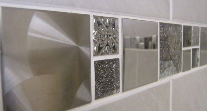Travertine Effect Grey Ceramic Bathroom Wall Tile Deal Inc Borders