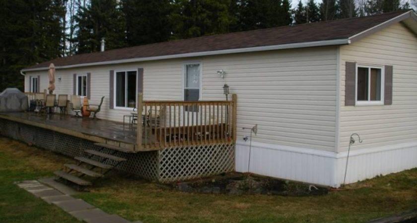 Triple Mobile Home Buck Lake Alberta Estates Canada