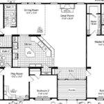 Triple Wide Manufactured Homes Floor Plans Bedroom