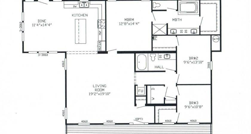 Triple Wide Manufactured Homes Floor Plans Factory