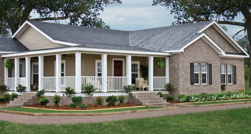Triple Wide Mobile Homes Brick Ideas