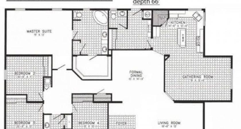 Triple Wide Mobile Homes Floor Plans Photos