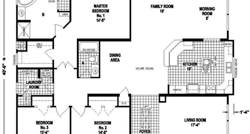Triple Wide Mobile Homes Floor Plans Sale All